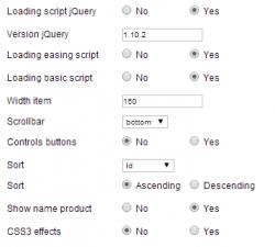 Модуль Sly скроллбар производителей для JoomShopping