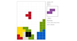 Модуль игры Тетрис на Mootools