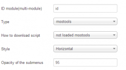MenuMatic Categories for K2 module