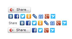 Плагин Социальная кнопка Yandex share