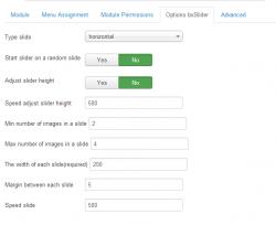 bxSlider content for K2 module