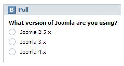 VK Poll module