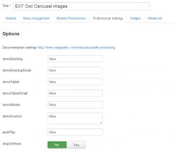 Owl Сarousel Images module