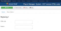 Remove HTML-code plugin