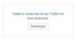 Tweet to download plugin