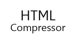 HTML Compressor plugin